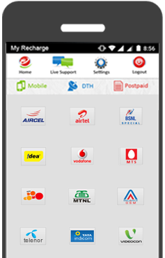Online Recharge Mobile Recharge For Prepaid Mobiles Dth